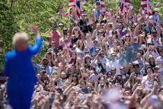 Hillary Clinton, a las puertas de la Casa Blanca