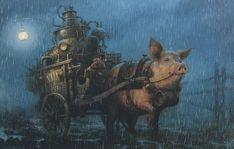 Французский художник иллюстратор Jean Baptiste Monge | Художник иллюстратор искусство | art
