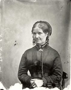 Photo of Charlotte's good friend Ellen Nussey (courtesy of The Bronte Parsonage Museum)