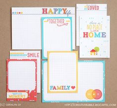Family Journaling Cards