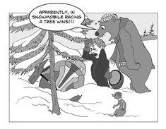 bear cartoon with snowmobiler Bear Cartoon, Cartoons, Humor, Cartoon Bear, Cartoon, Cartoon Movies, Humour, Funny Photos, Funny Humor