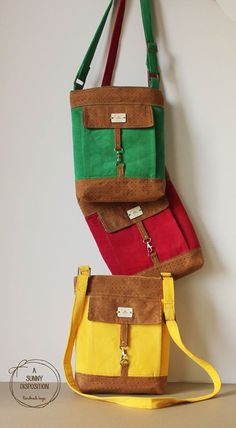 Metro hipster bag in multiple colours to choose from #yellow #pink #green #suede #slingbag #hipster