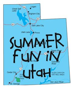 It's Written on the Wall:  Over 1,900 Cheap and Free Things to Do (In Utah) During Summer Vacation
