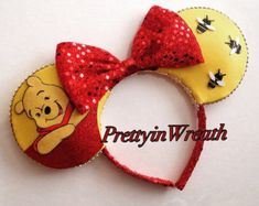winnie the pooh mickey mouse ears – Etsy
