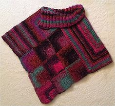 Ravelry: Noro Topper pattern by Brian smith Knitted Poncho, Crochet Shawl, Knit Crochet, Knitting Daily, Baby Knitting, Pattern Library, Knit Patterns, Knitting Projects, Pull