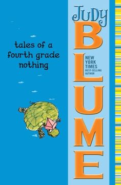 Tales of a Fourth Grade Nothing, by Judy Blume. I remember loving these as a kiddo, too. We actually bought all five of these instead of grabbing them at the library. Every kid needs Judy Blume on her bookshelf. Tales Of A 4th Grade Nothing, Wimpy Kid Series, Good Books, Books To Read, Ya Books, Amazing Books, Funny Books For Kids, In Her Eyes, Reading Levels