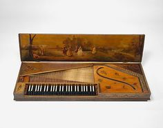 Clavichord  Christian Kintzing   Date: 1763 Geography: Neuwied, Germany Medium: Wood, metal