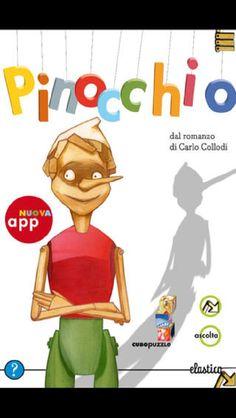 Le avventure di Pinocchio diventano interattive