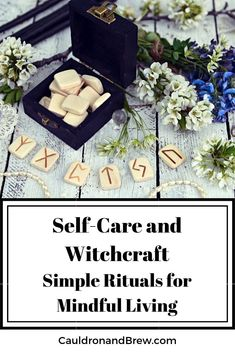 Self Care and Witchcraft | How to practice Simple Rituals for Mindful Living|  Seven ways to bring magic and ritual into your daily life and provide better self care for yourself.  We can only operate when our energy levels are full. So fill yourself! Witch Powers, Witch Rituals, Magick, Pagan Witchcraft, Spiritual Practices, Self Care Routine, Mindful Living, Book Of Shadows, Best Self