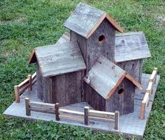 Beautiful Pallet Bird House Ideas | Pallets Designs #birdhouseideas