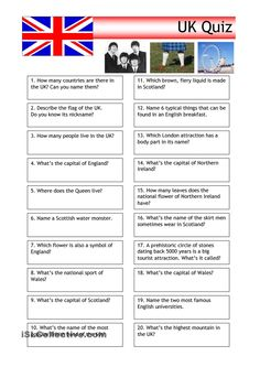the uk worksheets - Google Search
