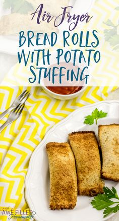 Looking for a unique recipe for your Air Fryer? This Air Fryer Bread Roll with Potato Stuffing is delicious! Perfect for a snack for the kids or yourself!