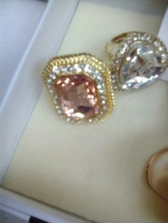 This sparkly blush pink ring is very on-trend and an absolute bargain for £5 on Juliette's stall.