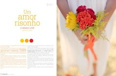 Spread from S Magazine by Simplesmente Branco