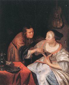 Frans van Mieris - Een paartje