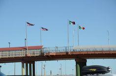 Puente Lerdo. Puente del Centro. Ciudad Juárez-El Paso.