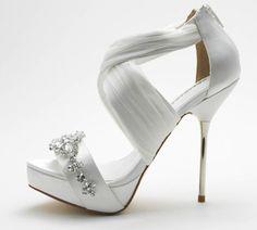 David Tutera  bridal shoe