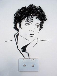 Michael Jackson made of an audiotape