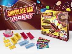 Hobby & Fritid - Chocolate Bar Maker, Lav dine egne chokoladebarer!