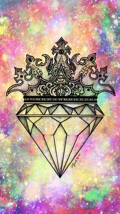 New wallpaper galaxy diamond ideas Desktop Wallpaper Black, Hippie Wallpaper, Diamond Wallpaper, Lit Wallpaper, Cute Wallpaper For Phone, Glitter Wallpaper, Wallpaper Iphone Disney, Pastel Wallpaper, Galaxy Wallpaper