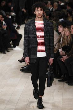 See every look from Burberry's Fall 2016 Menswear Collection