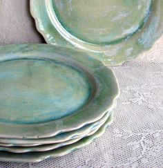 Handmade pottery ceramic stoneware clay by Lesliefreemandesigns, $198.00