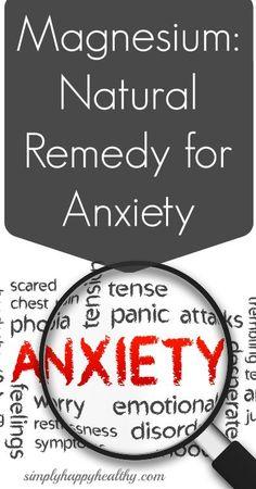 Combat anxiety with magnesium! #plexus