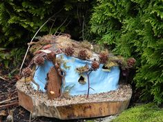 Fairy Homes, Forest Fairy, Sculptures, Home And Garden, Gardens, Houses, Heart, Nature, Woodland Fairy