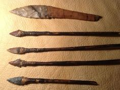 Native American Indian artifacts.