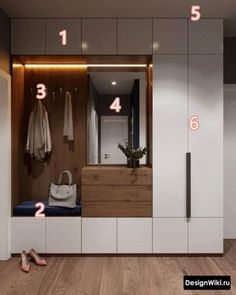Garderobe Two-tone mudroom or closet cabinets How Fire-Safe Is Your School? Home Entrance Decor, House Entrance, Entryway Decor, Bedroom Decor, Entryway Ideas, Hallway Ideas, Bedroom Storage, Entrance Halls, Hallway Decorating