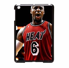 Lebron James Heat NBA Miami Heat Basketball iPad Mini Case