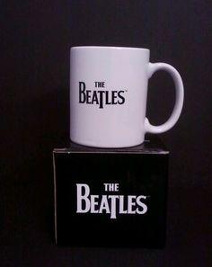 NIB The Beatles 11 oz ceramic mug THE WHITE ALBUM, free shipping.