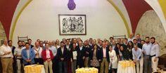 Convivencia con los colaboradores de la Unión de Hermandades tras la Semana Santa