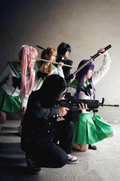 anime; Highschool of the Dead