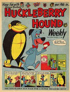 Huckelberry Hound Weekly Feb 17, 1962