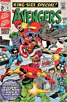 The Avengers King-Size Special! #4