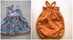 Grosgrain: Free Pattern Month Day 22 - Made By Rae: Itty Bitty Baby Dress Pattern and Baby Sunsuit Pattern and tutorial