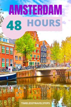 2 Days In Amsterdam, Visit Amsterdam, Amsterdam Travel, Amsterdam Sights, Amsterdam Itinerary, Amsterdam City, Road Trip Europe, Europe Travel Guide, Travel Guides