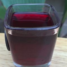 """Beet Infused Vodka 