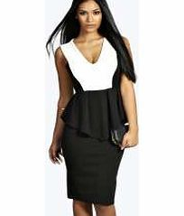boohoo Monochrome Peplum Dress - multi azz12867 Look knock-out on nights out in figure-skimming bodycon fits, flowing maxi lengths and stunning sequin-embellished occasion dresses. This season make for satin sheen slip dresses in mink nudes, and ma http://www.comparestoreprices.co.uk/dresses/boohoo-monochrome-peplum-dress--multi-azz12867.asp