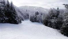 Bolton Valley... my favorite place to ski. Beautiful at night with the icecycles glistening on the trees