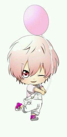 Style: manga Dessin: garçon porter par un ballon (Selon moi c'est un gars). Anime Fr, Anime Plus, Anime Expo, Manga Kawaii, Kawaii Chibi, Cute Chibi, Kawaii Drawings, Cute Drawings, Anime Kitten