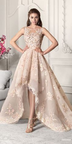 Demetrios Bridal 2019 Brautkleider - T. Eb - - Demetrios Bridal 2019 Brautkleider - T. Cute Girl Dresses, Pretty Dresses, Beautiful Dresses, Short Dresses, Formal Dresses, Dresses Dresses, Casual Dresses, Skater Dresses, Illusion Neckline Wedding Dress
