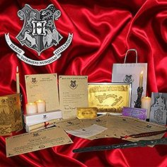 Personalised Hogwarts Acceptance Gift Set Wand Quill Harry Potter  1st wanted most please