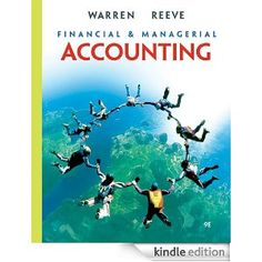 Understand what accounting is all about and its evolving role in business with Warren and Reeve's FINANCIAL AND MANAGERIAL ACCOUNTING, essentially the most profitable higher training accounting textual content of all time. You'll use the preparation of economic statements as a framemark work for understand accounting and ideas and in the process you'll see the way to use accounting to know the business.    This e-book was actually straightforward to pick up the accounting basics