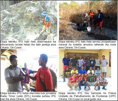 Servisu Mapamentu Jeolojia no Prospeksaun Mineral iha Area Citrana, Oé-Cusse, Timor-Leste. Timor Leste, Earth Science, Minerals, Cards, Geology, Maps, Gemstones, Mineral