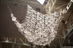 woven bullseye glass/ light splashes