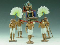 Ancient Egypt AE001 Pharaoh's Sedan Chair - Made by King and Country Military Miniatures and Models. Factory made, hand assembled, painted and boxed in a padded decorative box. Excellent gift for the enthusiast.