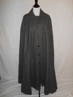 Vintage Beautiful WOOL  thick heavy Cape by ATELIERVINTAGESHOP, $250.00