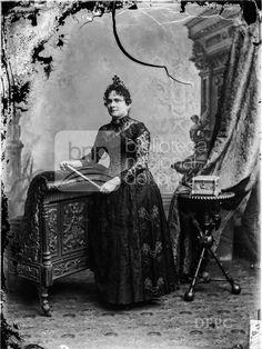 Manuela de Corso, Fotografia de Eugenio Courret, publicada en 1889 - Biblioteca Nacional del Perú